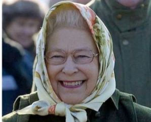 The Queen's glasses